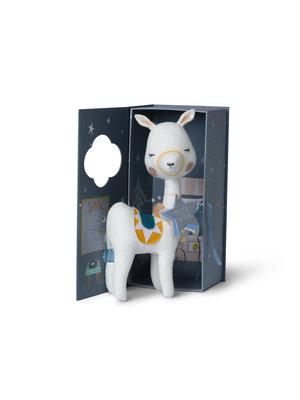 Llama in gift box - Picca Loulou 27 cm