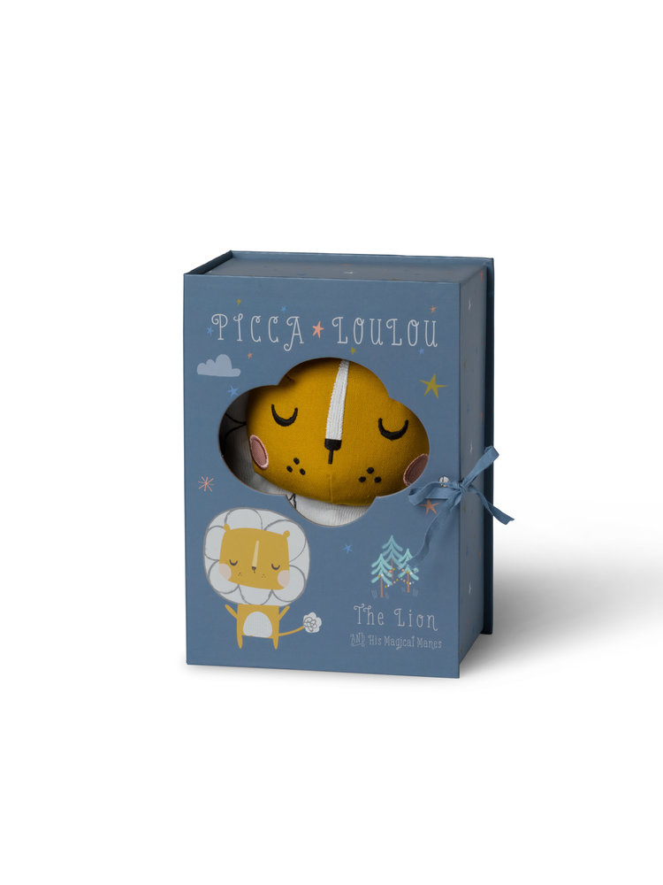 Picca Loulou Lion in gift box - Picca Loulou 18 cm