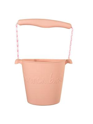 Scrunch Scrunch Strandemmertje Blush pink [opvouwbaar]