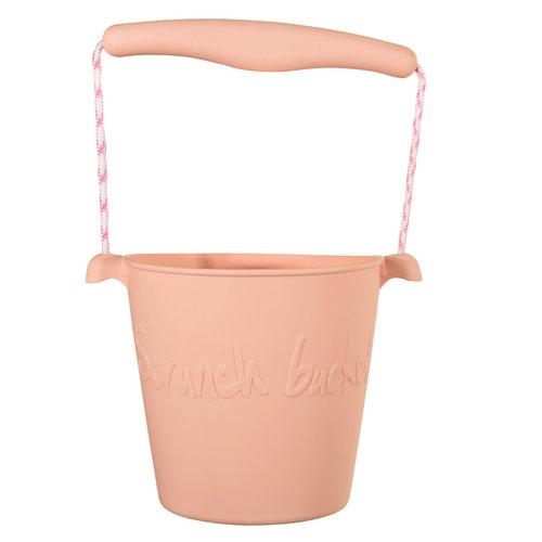 Scrunch Strandemmertje Blush pink [opvouwbaar]