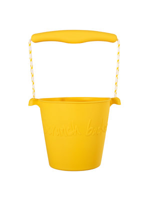 Scrunch Strandemmertje Buttercup yellow [opvouwbaar]