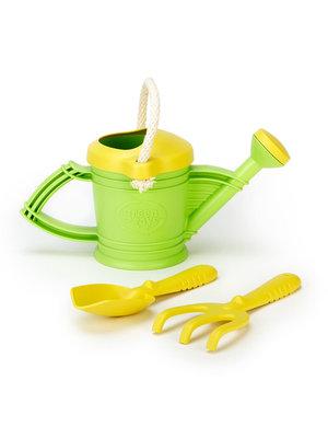 Green Toys Green Toys Watering can - Gieter met harkje en schepje