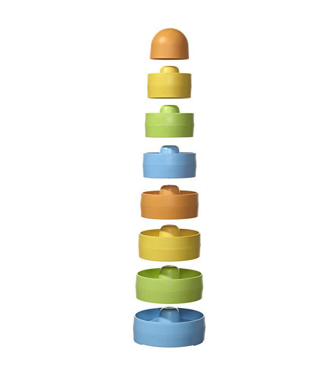 Green Toys Stacker - Stapeltoren gerecycled plastic