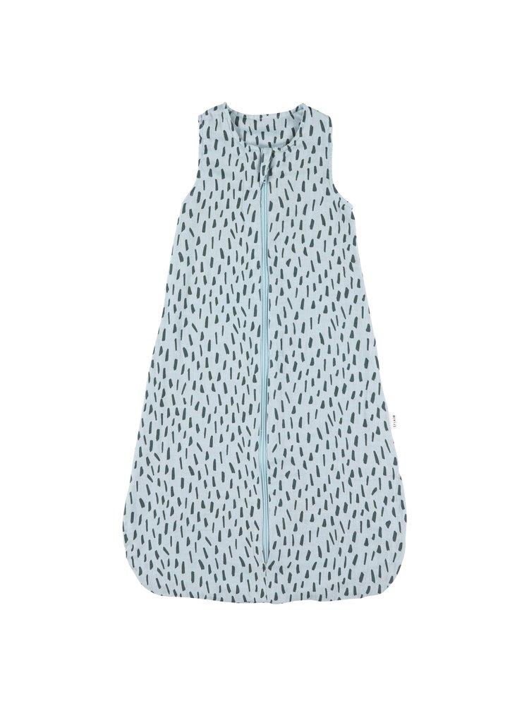 Trixie Trixie zomerslaapzak 70 cm [2-9 mnd - TOG 0.8] Blue Meadow