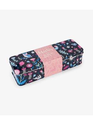 Hatley Girls Crew Sokken in gift box