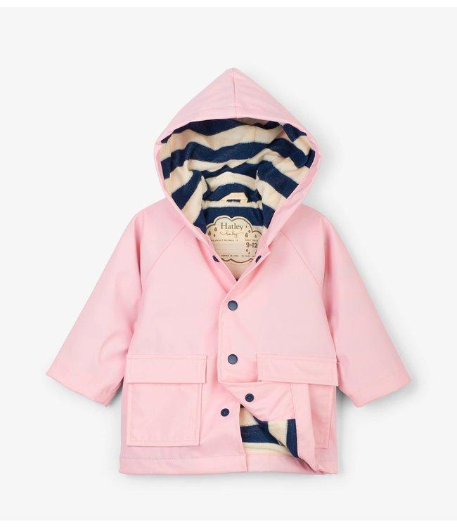 Hatley Pink Baby Regenjas