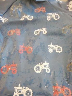 Hatley Farm Tractors Baby Regenjas Colour Changing