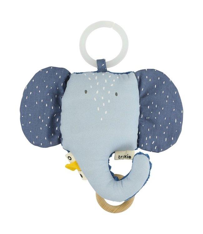 Trixie Trixie muziek doosje / knuffel Mrs Elephant
