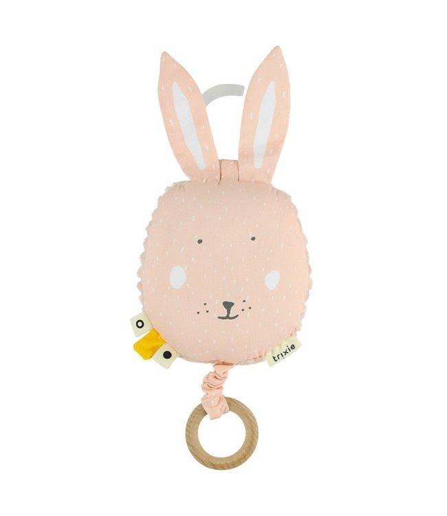 Trixie Trixie muziek doosje / knuffel Mrs Rabbit