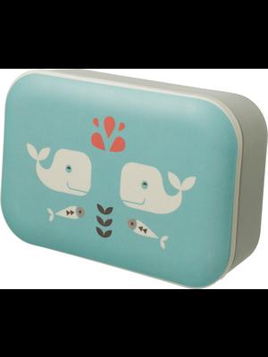 Fresk Fresk bamboe Lunchbox Whale