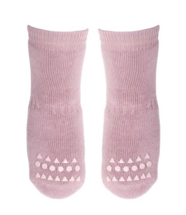 Go baby go Anti- slip sokken Dusty Rose -