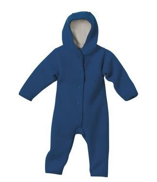 Disana Baby winterpak - Overall GOTS gekookte wol Navy