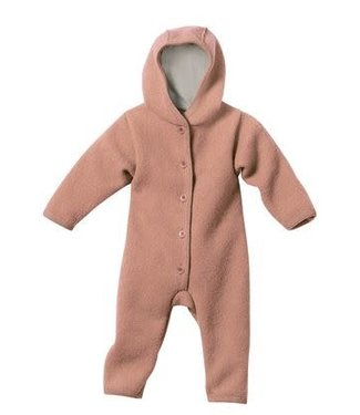 Disana Baby winterpak - Overall GOTS gekookte wol Rose