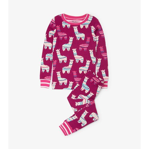 Hatley Adorable Alpacas Pyjamaset  - Organic Cotton