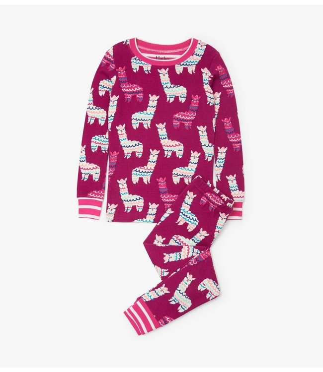 Hatley Adorable Alpacas Pyjamaset  - Organic Cotton