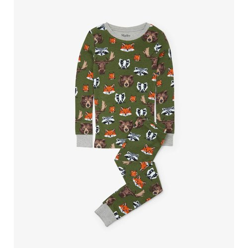 Hatley Woodland Critters Pyjamaset  - Organic Cotton