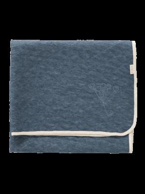 Fresk Fresk wiegdeken Nordic Indigo Blue 75 x 100 cm TOG-waarde 1,3