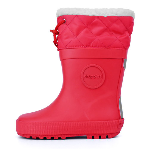 Druppies Winter boot - Regenlaars met voering Warm Roze