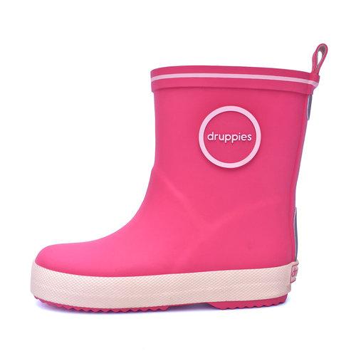 Druppies Fashion boot - Regenlaars Roze