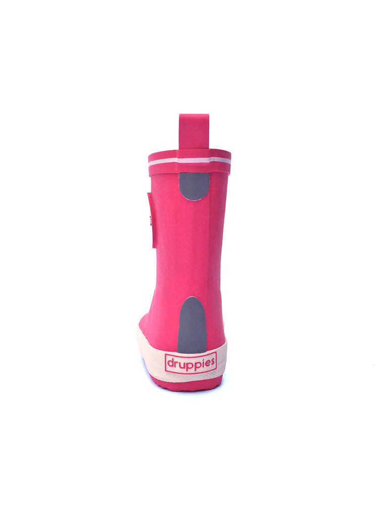 Druppies Fashion boot - Regenlaars Roze