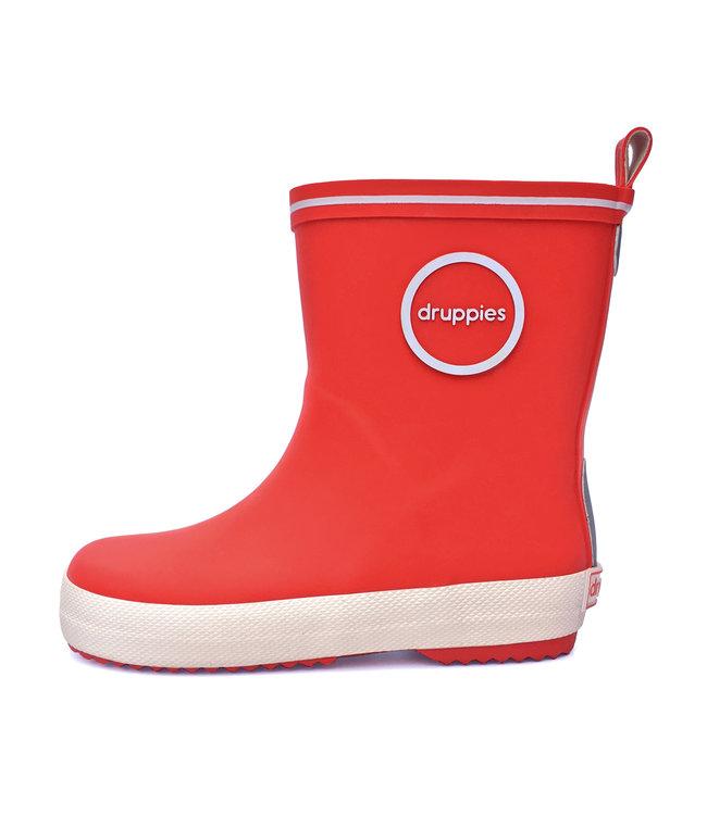 Druppies Fashion boot - Regenlaars Rood