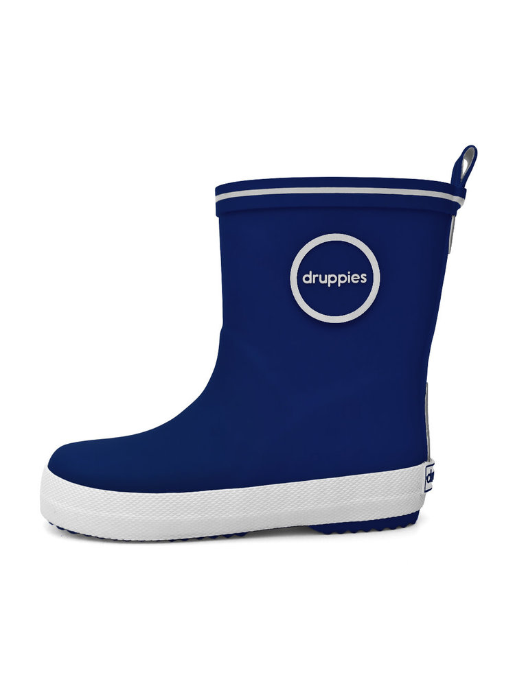 Druppies Fashion boot - Regenlaars Donkerblauw