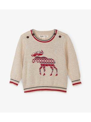 Hatley Baby sweater Moose - Eland