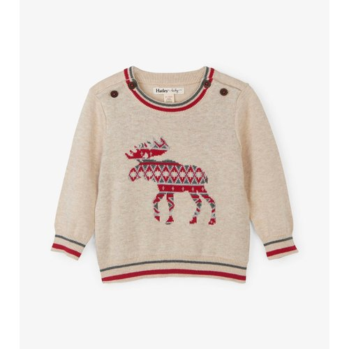 Hatley Baby sweater Moose - Eland
