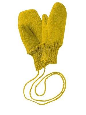 Disana Handschoenen gekookte GOTS wol Curry