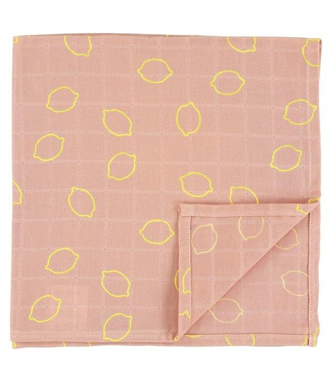 Trixie Hydrofieldoek GOTS 55x55 cm Lemon Squash