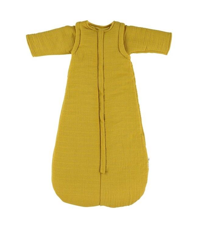 Les reves d'anais Winter slaapzak 87 cm [2-9 mnd - TOG 2.3] Bliss Mustard