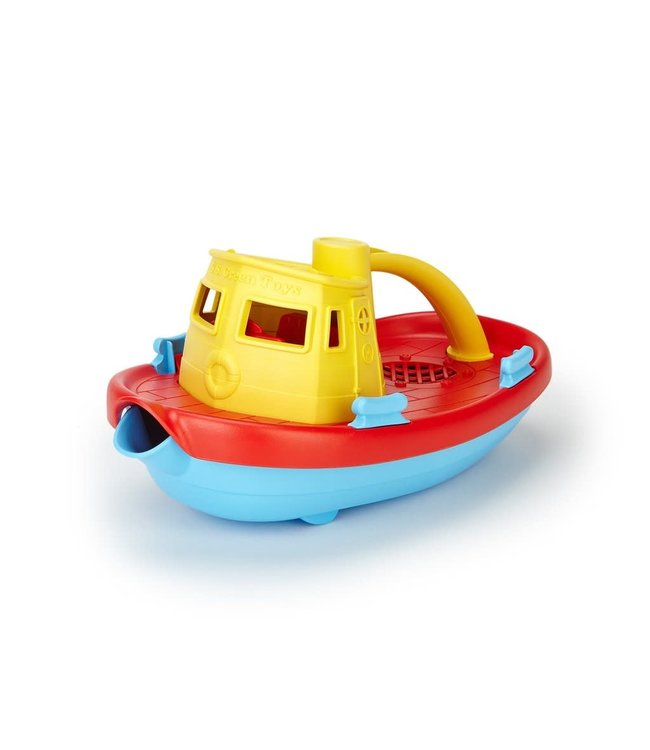 Green Toys Tugboat - Sleepboot van gerecycled plastic