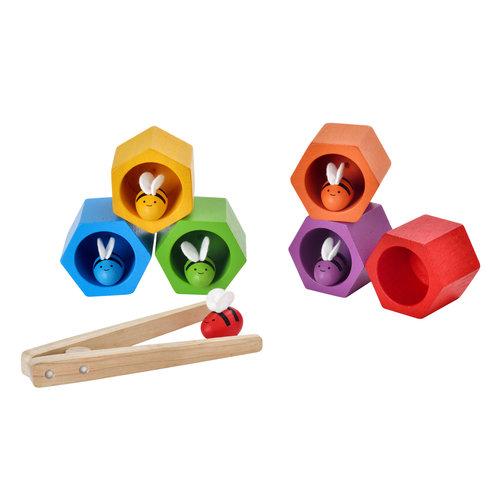 Plan Toys Beehives - Bijen spel