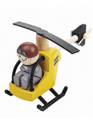 Plan Toys Helicopter met piloot
