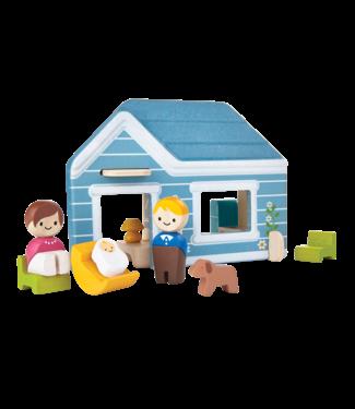 Plan Toys Speel set 'Home' - Huis van duurzaam hout