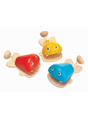 Plan Toys Castagnette Fisch Geel