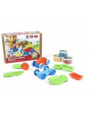 Green Toys Race Car Maker Dough set - Speeldeeg set (12-delig) Raceauto ontwerpen van biologische bloem