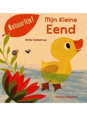 Mijn Kleine eend. Britta Teckentrup 100% gerecycled papier en gedrukt met eco-inkt