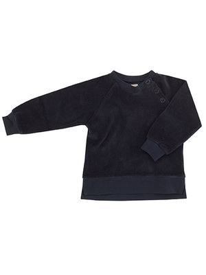 Pigeon Velour sweatshirt Ink blue