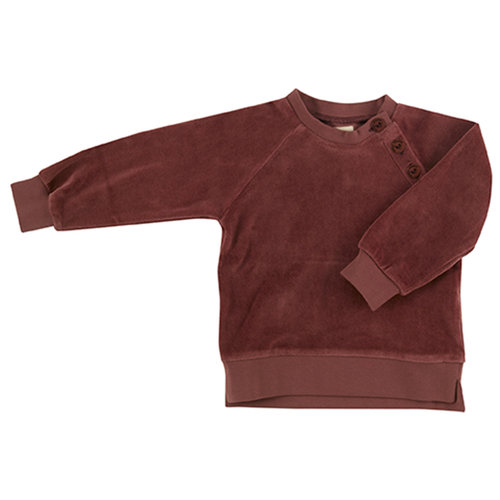 Pigeon Velour sweatshirt Spice