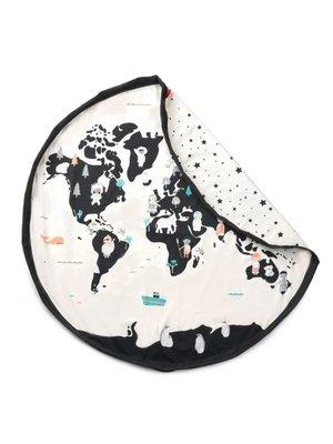 Play & Go Play & Go Speelkleed Worldmap / sterren dubbelzijdig