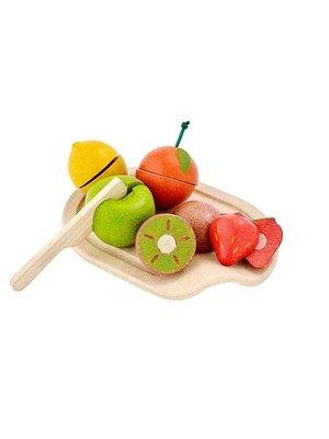 Plan Toys Snijset fruit (7-delig) van duurzaam hout