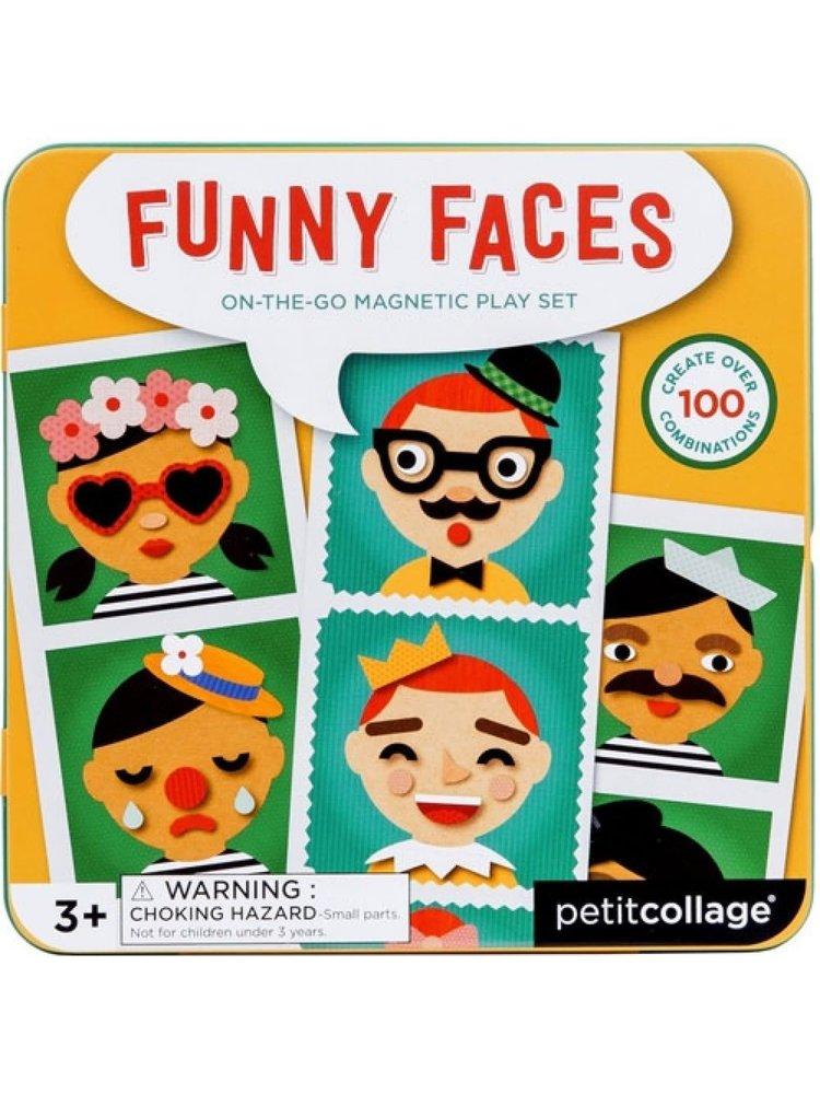 Funny Faces magnetisch spel On-the-go +3jaar