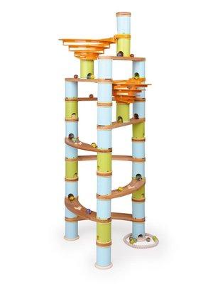 Bamboo Planet Knikkerbaan Jumbo Kit 138-delig