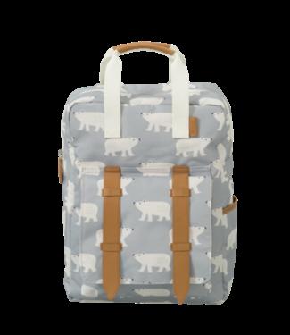 Fresk Fresk rugzak Polar Bear Groot van gerecyclede PET flessen