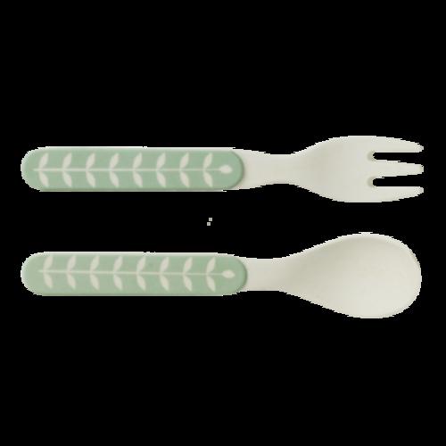 Fresk Bamboe besteksetje vork & lepel Dachsy