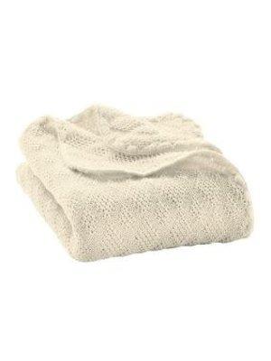 Disana Babydeken GOTS Wol Natural White 100x80 cm