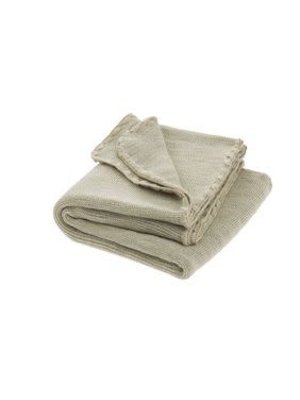 Disana Babydeken GOTS Wol Melange Natural Grey 100x80 cm
