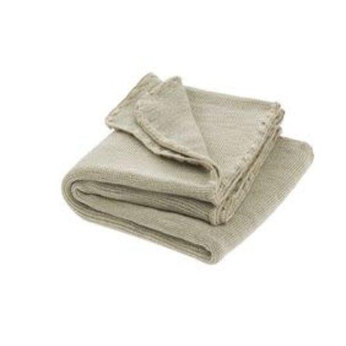 Disana Babydeken GOTS Wol Natural Grey 100x80 cm