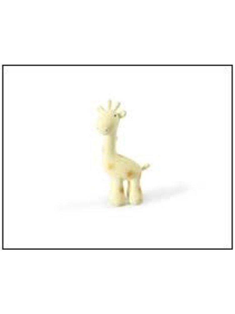 Tikiri My First Tikiri Safari Animal Giraf bijtspeeltje met belletje natuurrubber